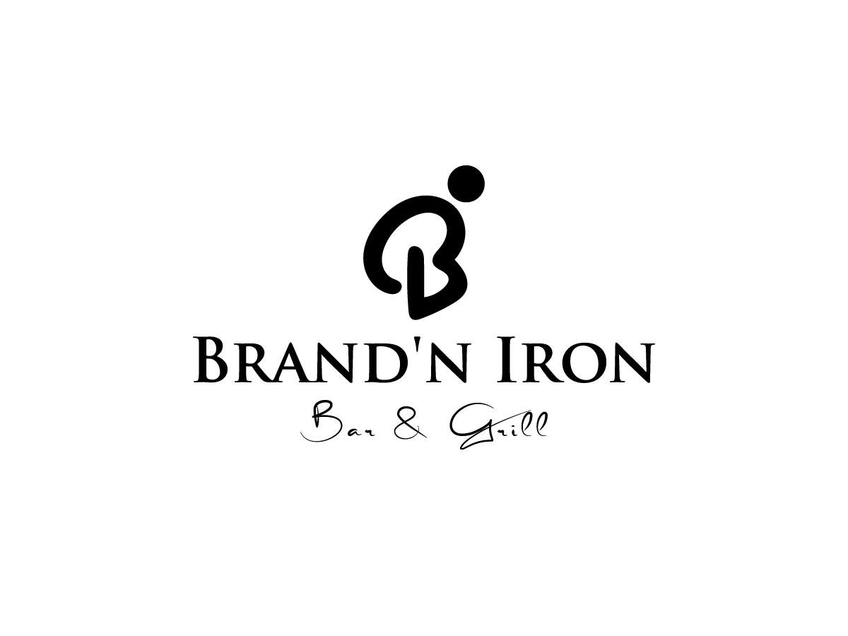 Logo Design by Nillakas Design - Entry No. 61 in the Logo Design Contest Captivating Logo Design for Brand'n Iron Bar & Grill.