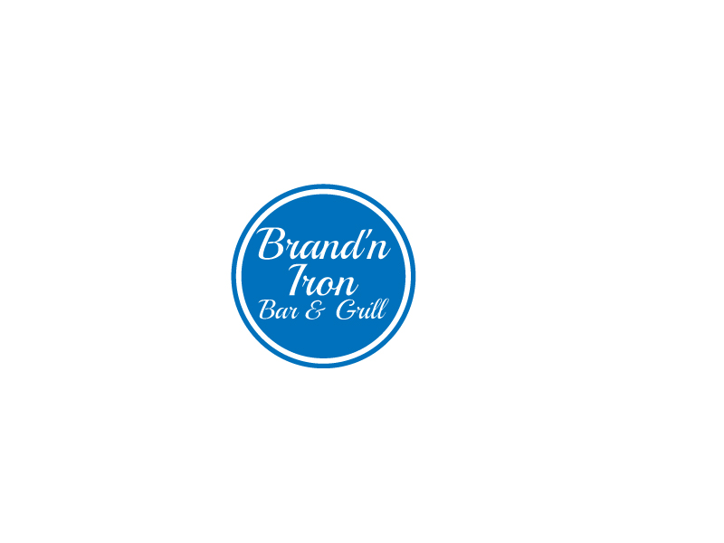 Logo Design by Shahporan Hossain - Entry No. 83 in the Logo Design Contest Captivating Logo Design for Brand'n Iron Bar & Grill.