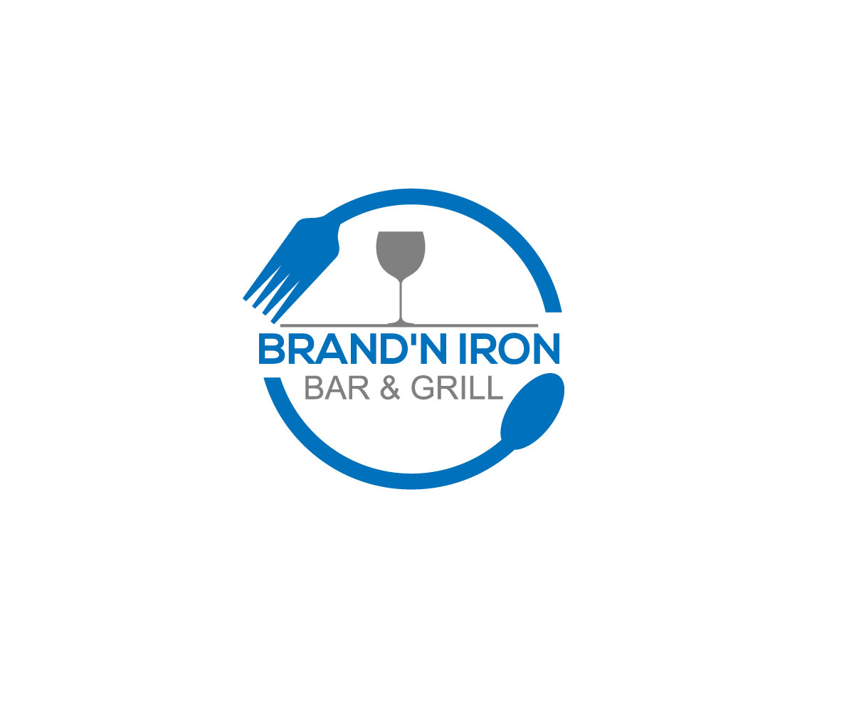 Logo Design by ARMAN HOSSAIN - Entry No. 92 in the Logo Design Contest Captivating Logo Design for Brand'n Iron Bar & Grill.