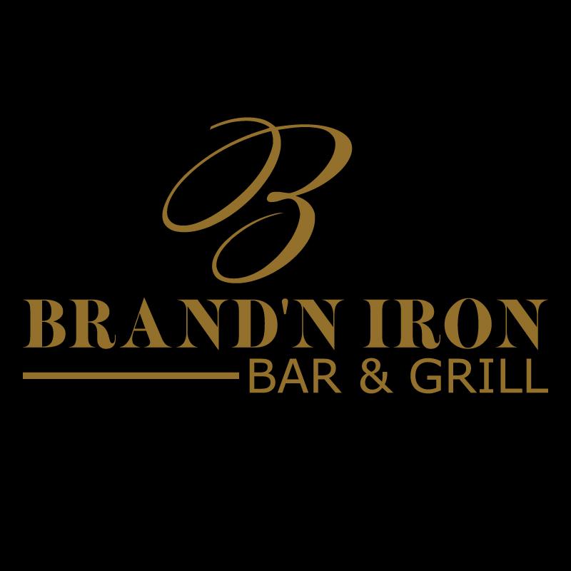 Logo Design by Sinthiya Omar - Entry No. 100 in the Logo Design Contest Captivating Logo Design for Brand'n Iron Bar & Grill.