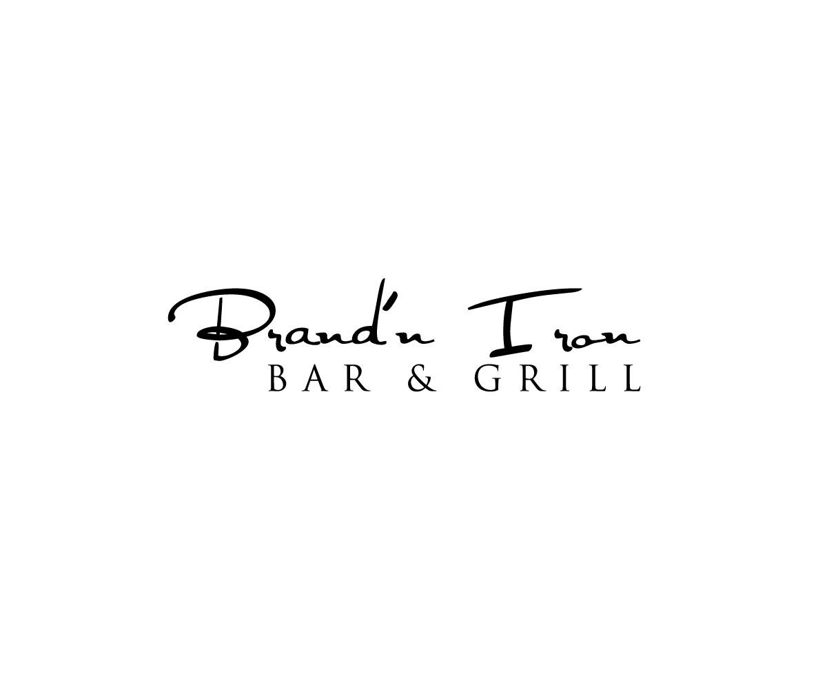 Logo Design by Masum Billah - Entry No. 122 in the Logo Design Contest Captivating Logo Design for Brand'n Iron Bar & Grill.