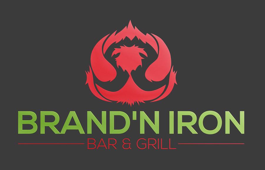 Logo Design by Siful Islamsi - Entry No. 139 in the Logo Design Contest Captivating Logo Design for Brand'n Iron Bar & Grill.