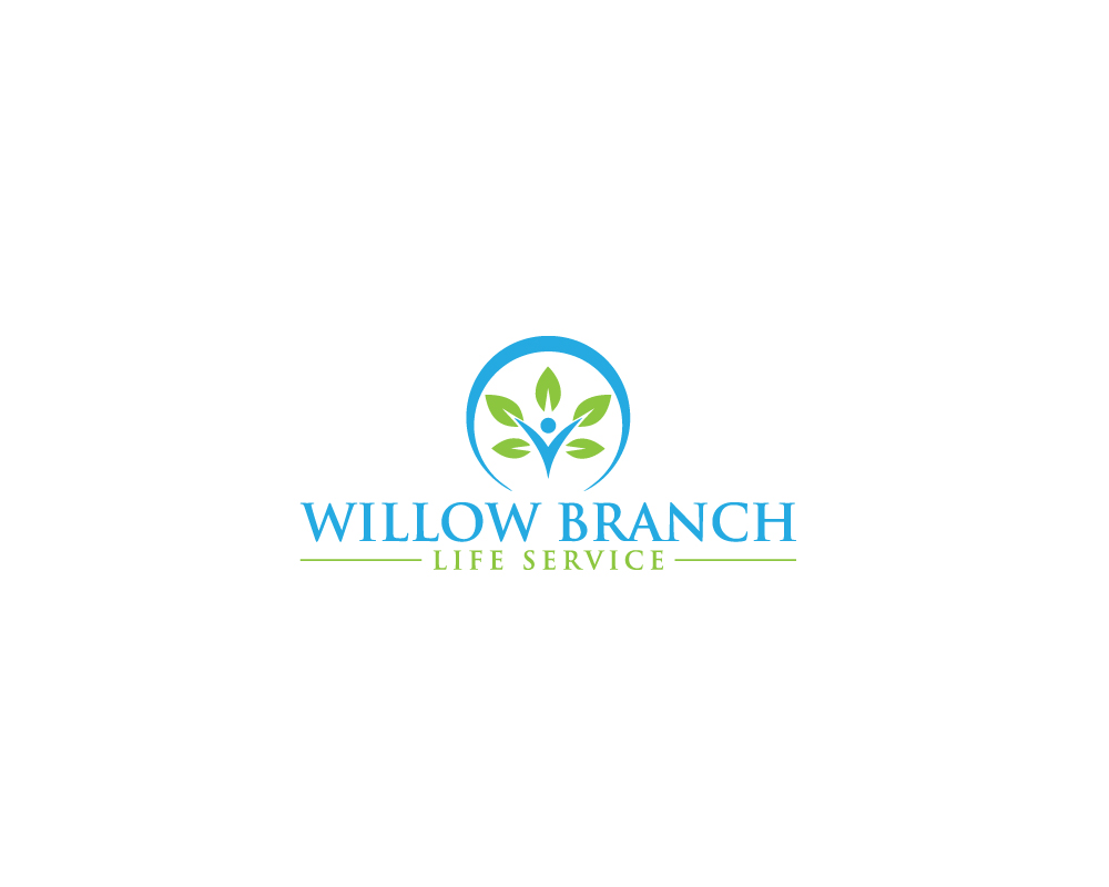 Logo Design by Mirza Arif Ahammed - Entry No. 438 in the Logo Design Contest Artistic Logo Design for Willow Branch Life Service.
