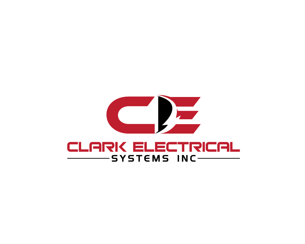 Logo Design by Mirza Arif Ahammed - Entry No. 11 in the Logo Design Contest Artistic Logo Design for Clark Electrical Systems Inc..