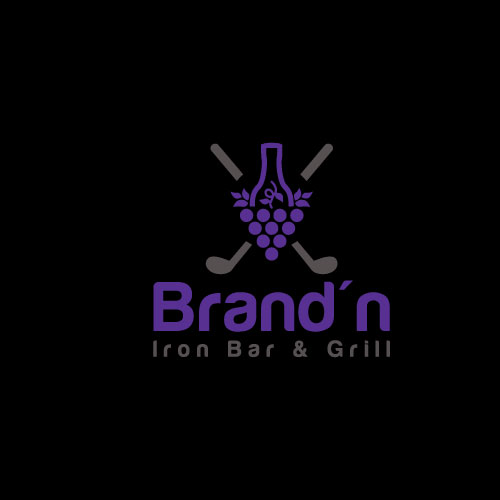 Logo Design by Maksud Rifat - Entry No. 147 in the Logo Design Contest Captivating Logo Design for Brand'n Iron Bar & Grill.