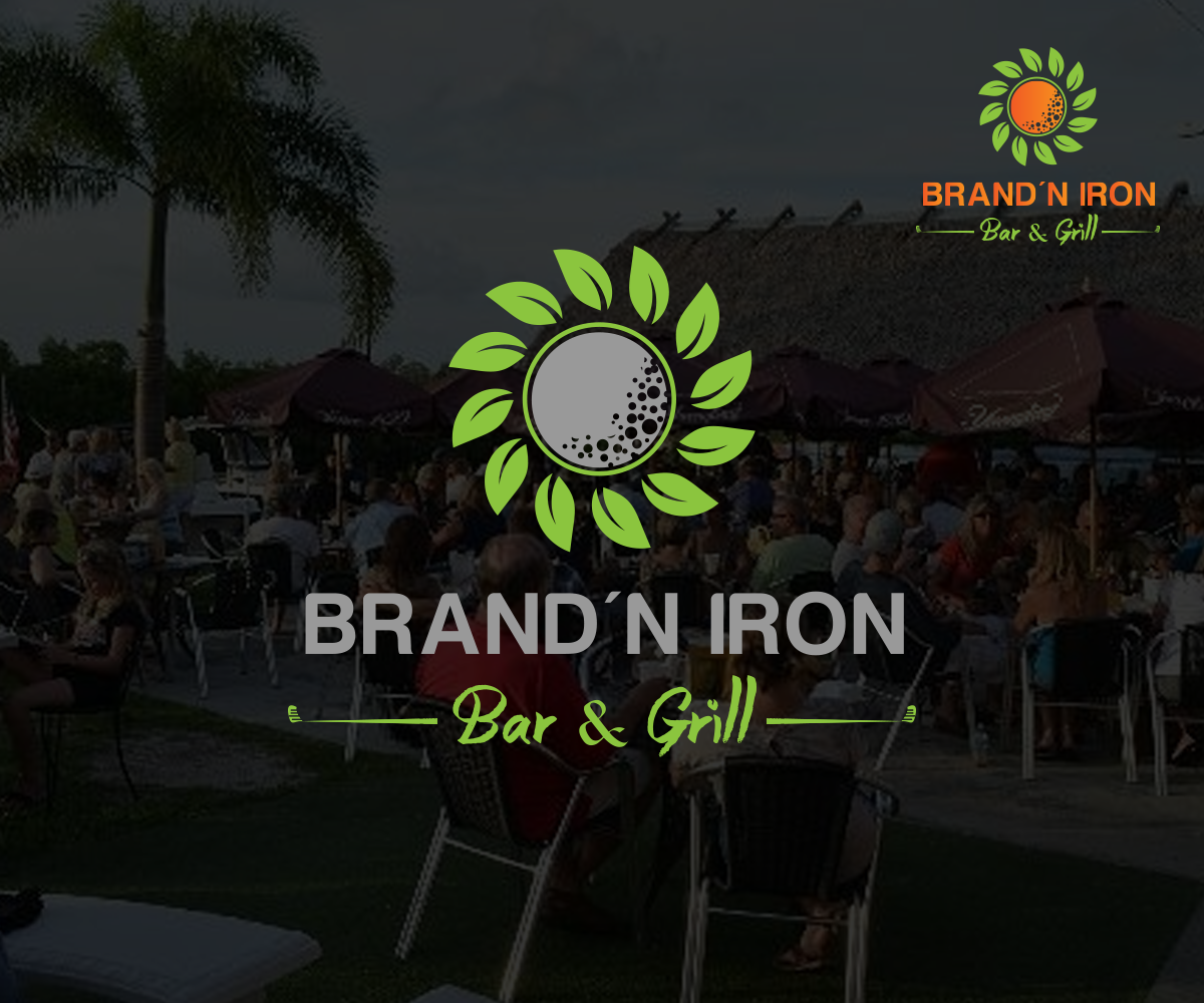Logo Design by Perfect Design - Entry No. 150 in the Logo Design Contest Captivating Logo Design for Brand'n Iron Bar & Grill.