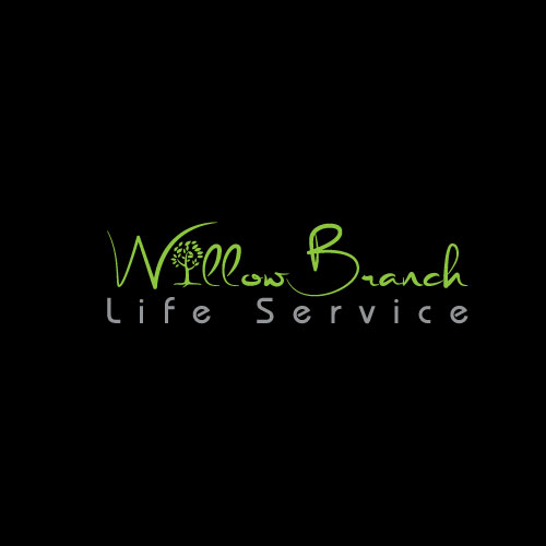 Logo Design by Maksud Rifat - Entry No. 442 in the Logo Design Contest Artistic Logo Design for Willow Branch Life Service.