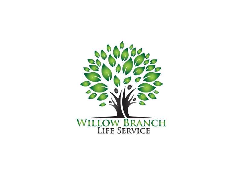 Logo Design by brands_in - Entry No. 443 in the Logo Design Contest Artistic Logo Design for Willow Branch Life Service.