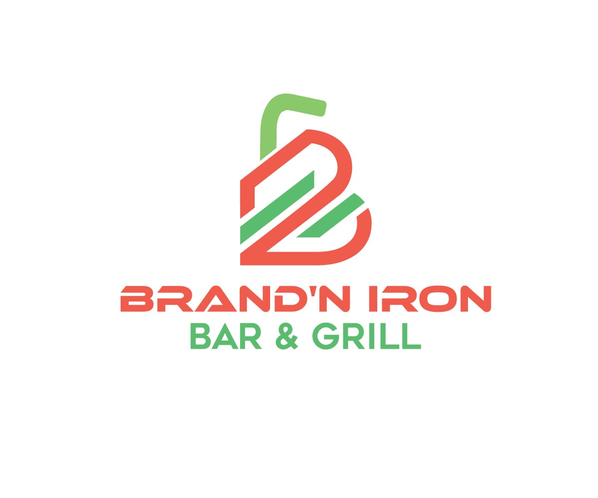 Logo Design by Private User - Entry No. 154 in the Logo Design Contest Captivating Logo Design for Brand'n Iron Bar & Grill.
