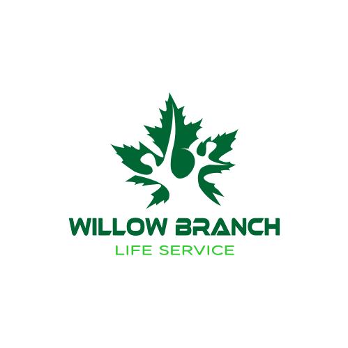 Logo Design by Bima Bima - Entry No. 444 in the Logo Design Contest Artistic Logo Design for Willow Branch Life Service.