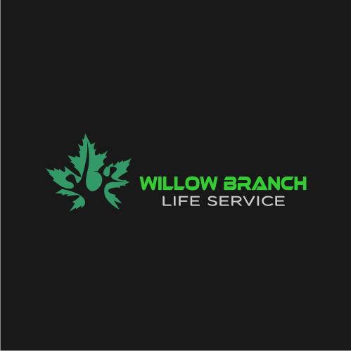 Logo Design by Bima Bima - Entry No. 445 in the Logo Design Contest Artistic Logo Design for Willow Branch Life Service.