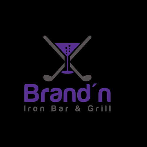 Logo Design by Maksud Rifat - Entry No. 161 in the Logo Design Contest Captivating Logo Design for Brand'n Iron Bar & Grill.