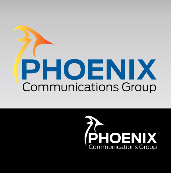 Logo Design by gisting - Entry No. 22 in the Logo Design Contest Phoenix Communications Group.