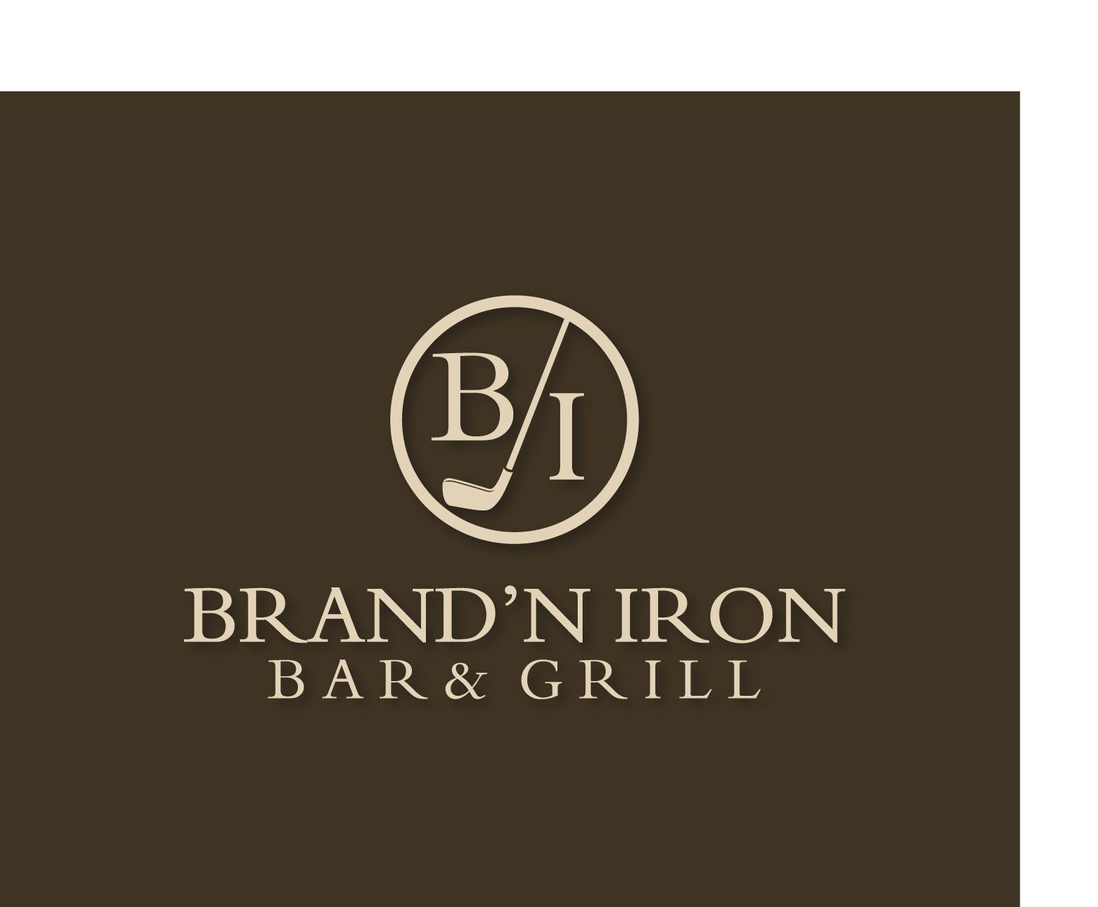 Logo Design by Allan Esclamado - Entry No. 163 in the Logo Design Contest Captivating Logo Design for Brand'n Iron Bar & Grill.