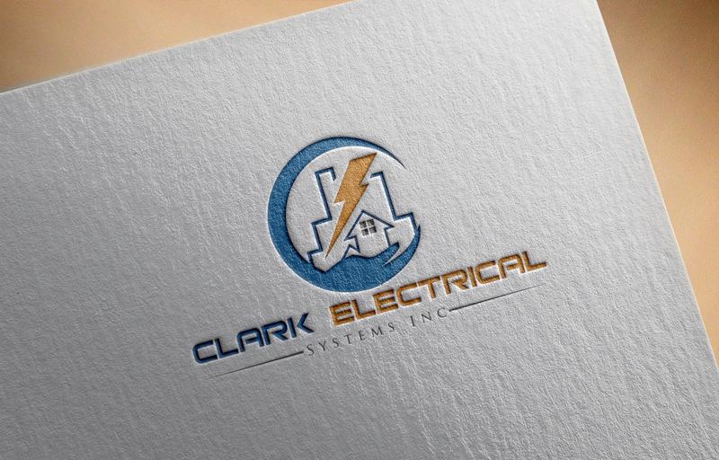 Logo Design by Md Harun Or Rashid - Entry No. 23 in the Logo Design Contest Artistic Logo Design for Clark Electrical Systems Inc..