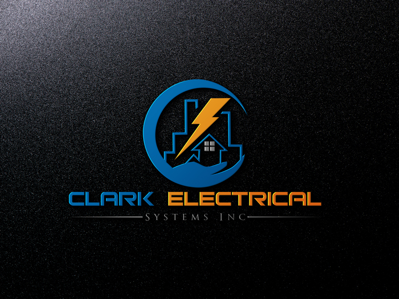 Logo Design by Md Harun Or Rashid - Entry No. 25 in the Logo Design Contest Artistic Logo Design for Clark Electrical Systems Inc..