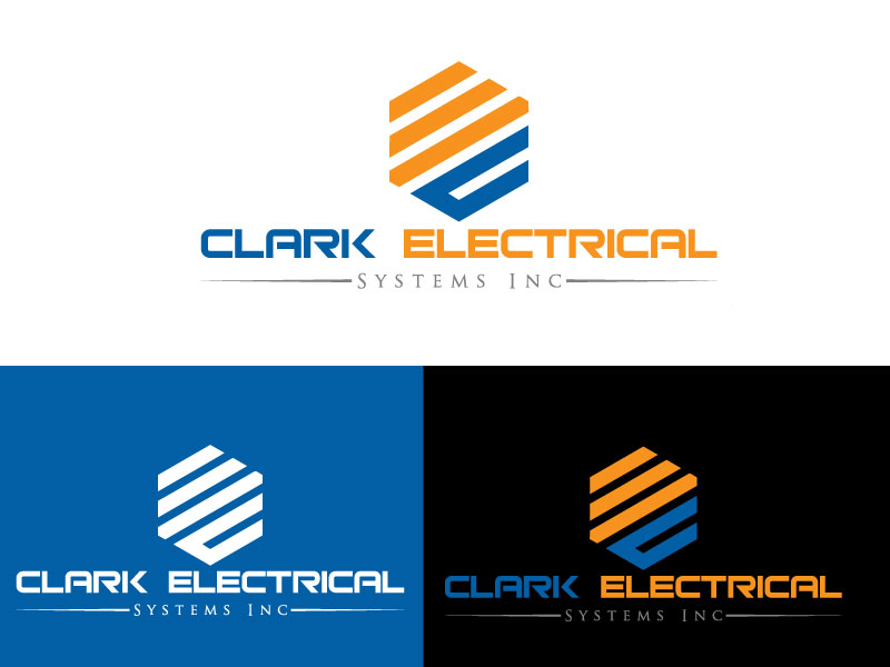 Logo Design by Md Harun Or Rashid - Entry No. 28 in the Logo Design Contest Artistic Logo Design for Clark Electrical Systems Inc..