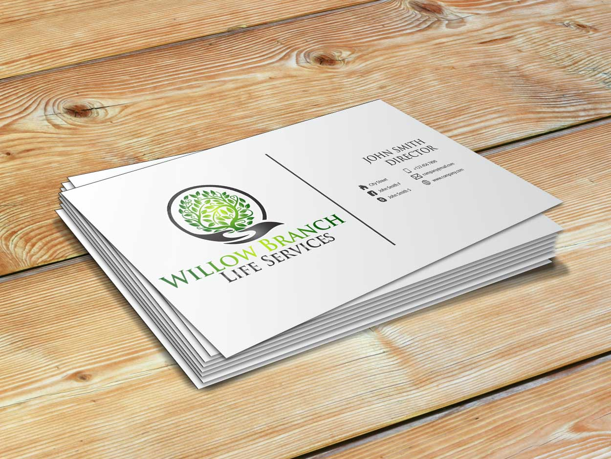 Logo Design by Private User - Entry No. 448 in the Logo Design Contest Artistic Logo Design for Willow Branch Life Service.