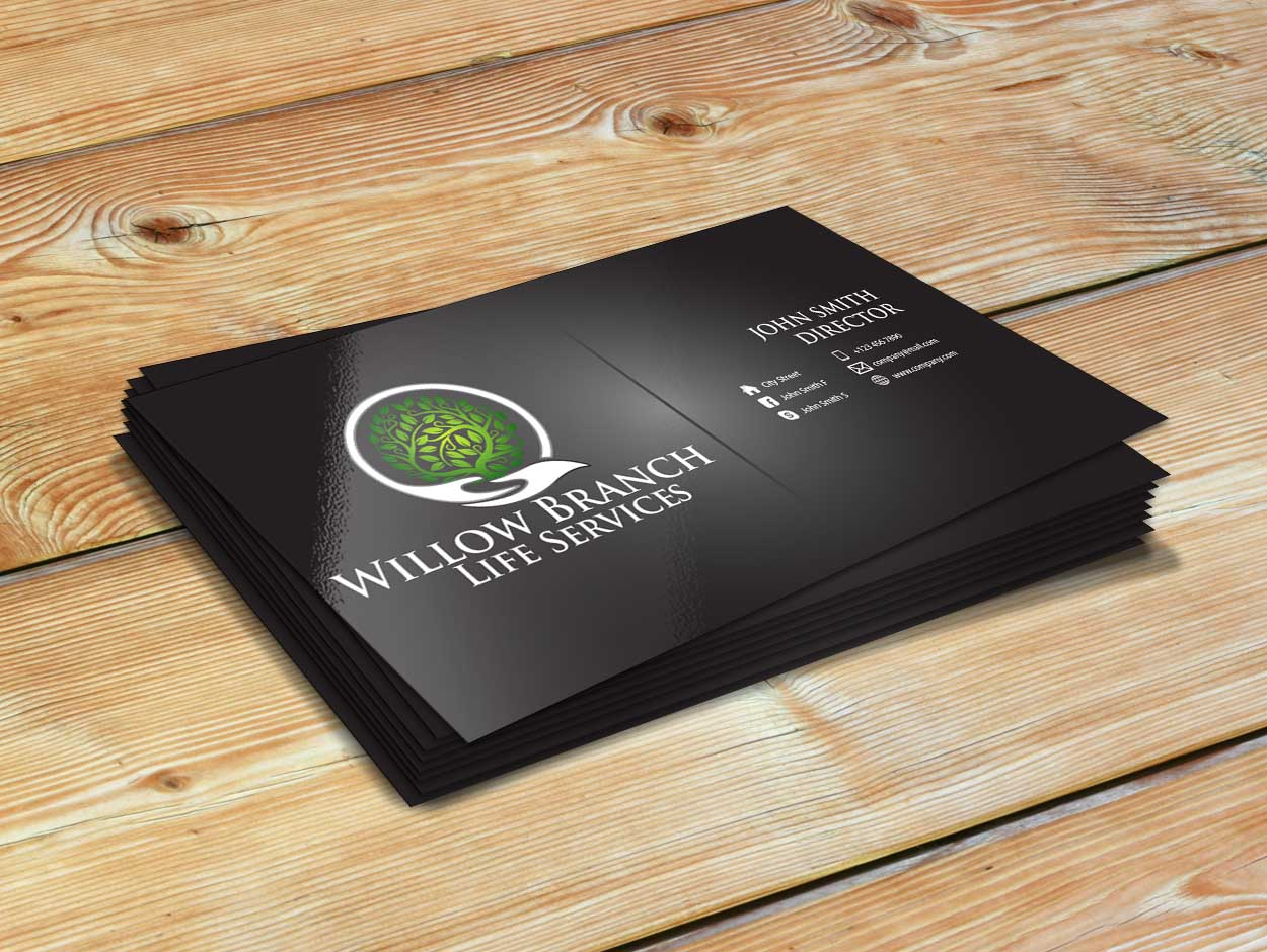 Logo Design by Private User - Entry No. 450 in the Logo Design Contest Artistic Logo Design for Willow Branch Life Service.