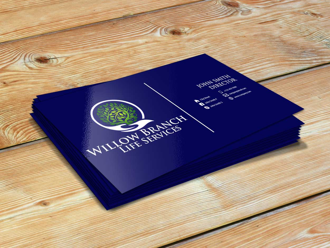Logo Design by Private User - Entry No. 452 in the Logo Design Contest Artistic Logo Design for Willow Branch Life Service.
