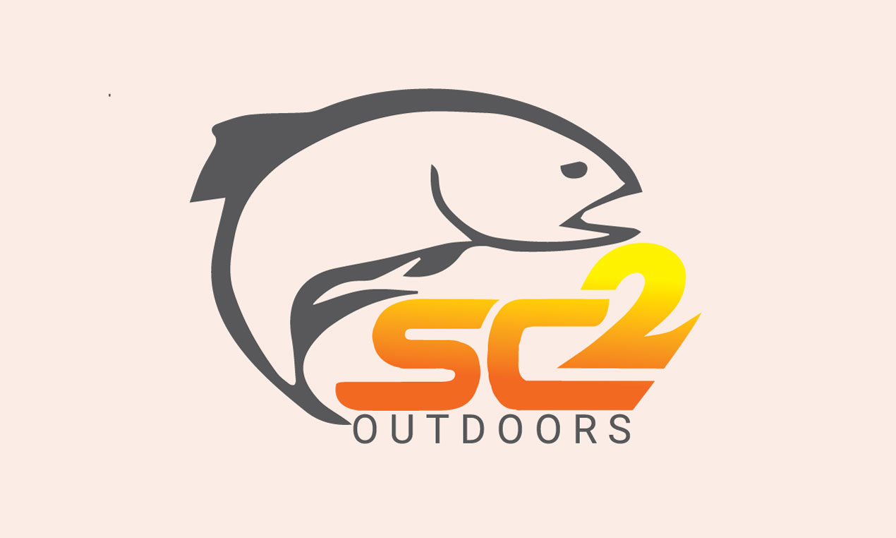 Logo Design by MD ZAHIR RAIHAN - Entry No. 13 in the Logo Design Contest Imaginative Logo Design for SC2 Outdoors Hunting / Fishing Logo.