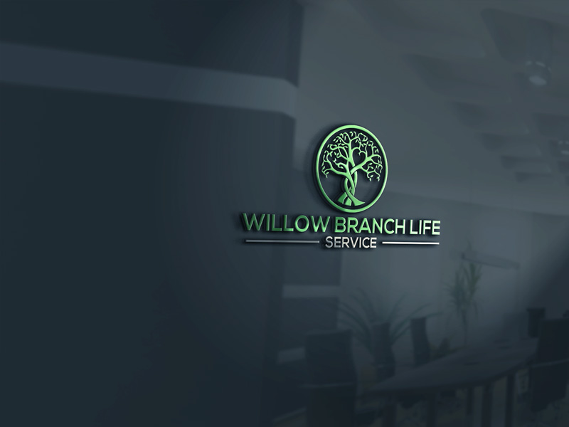 Logo Design by Private User - Entry No. 455 in the Logo Design Contest Artistic Logo Design for Willow Branch Life Service.