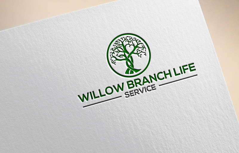Logo Design by Private User - Entry No. 456 in the Logo Design Contest Artistic Logo Design for Willow Branch Life Service.