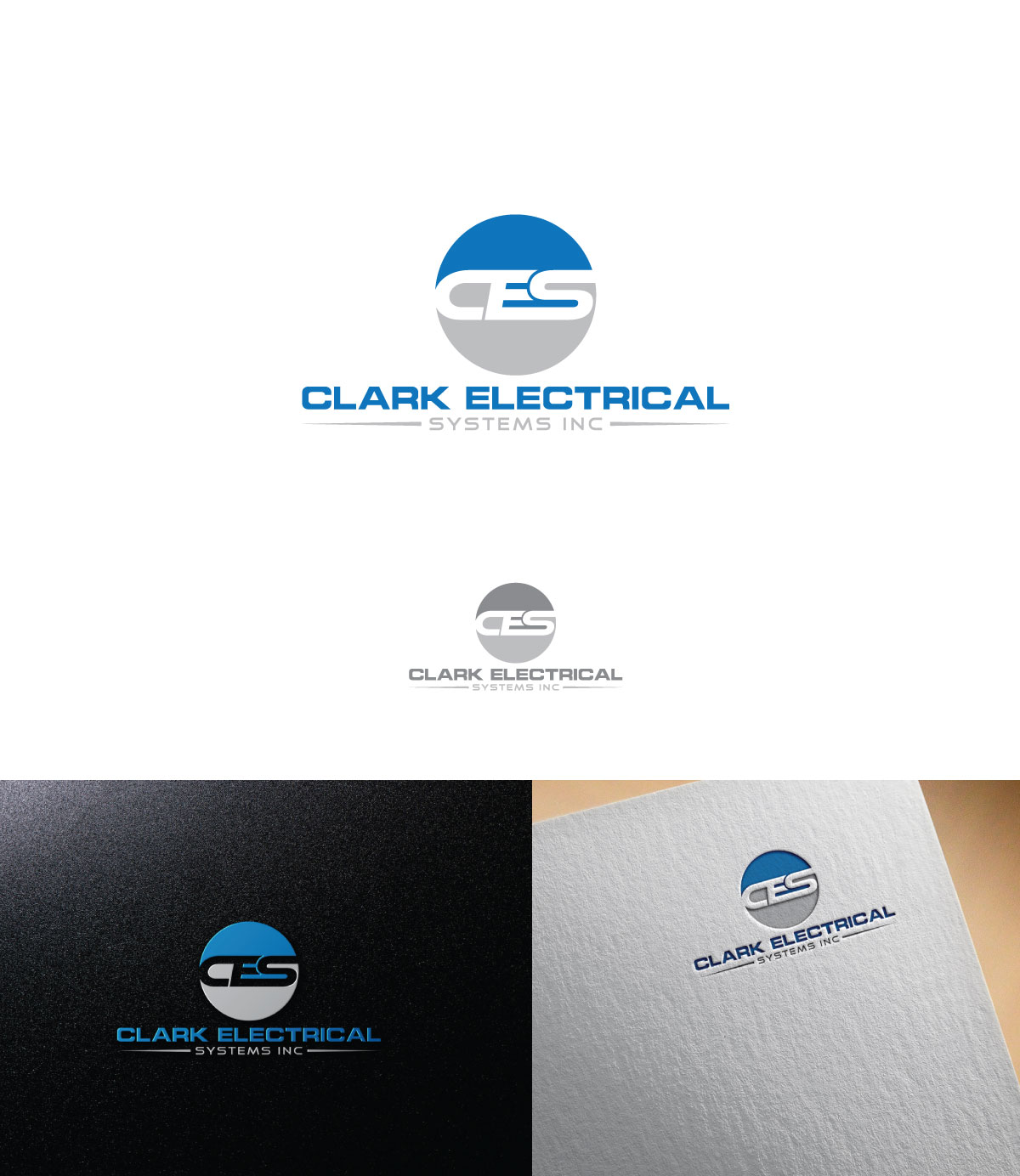 Logo Design by Istahak Ahmed - Entry No. 37 in the Logo Design Contest Artistic Logo Design for Clark Electrical Systems Inc..