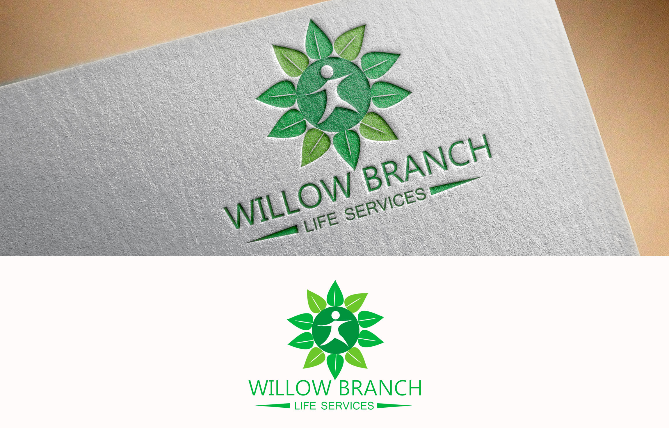 Logo Design by Private User - Entry No. 457 in the Logo Design Contest Artistic Logo Design for Willow Branch Life Service.
