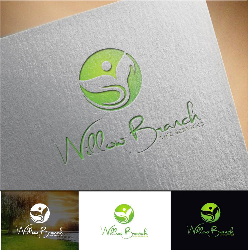 Logo Design by RasYa Muhammad Athaya - Entry No. 463 in the Logo Design Contest Artistic Logo Design for Willow Branch Life Service.