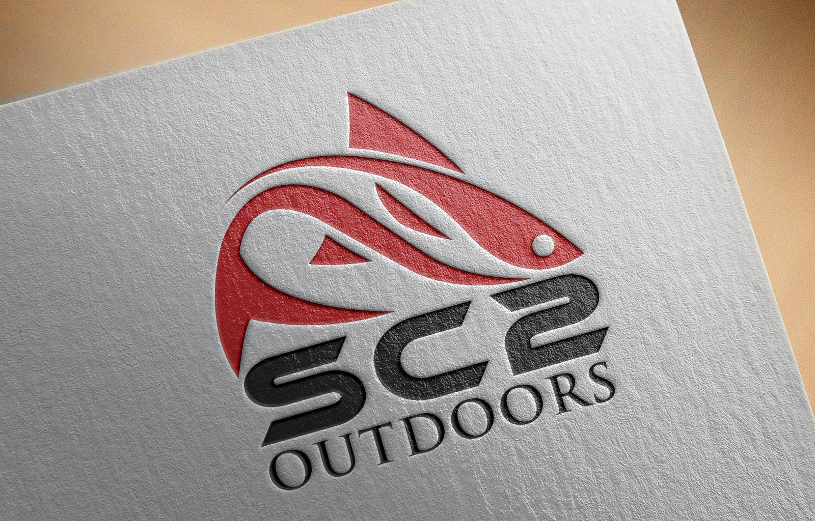 Logo Design by Shahnawaz Ahmed - Entry No. 25 in the Logo Design Contest Imaginative Logo Design for SC2 Outdoors Hunting / Fishing Logo.