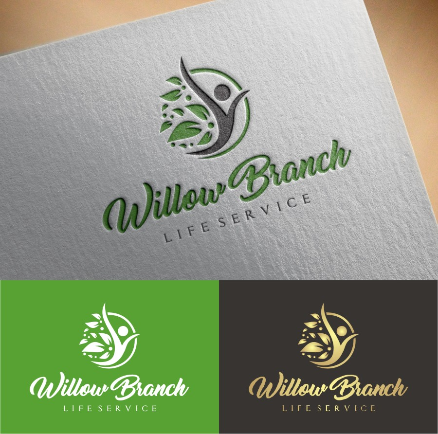 Logo Design by Lynx Graphics - Entry No. 468 in the Logo Design Contest Artistic Logo Design for Willow Branch Life Service.