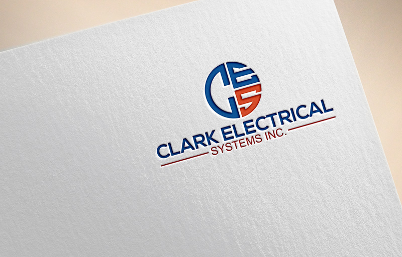 Logo Design by Private User - Entry No. 44 in the Logo Design Contest Artistic Logo Design for Clark Electrical Systems Inc..