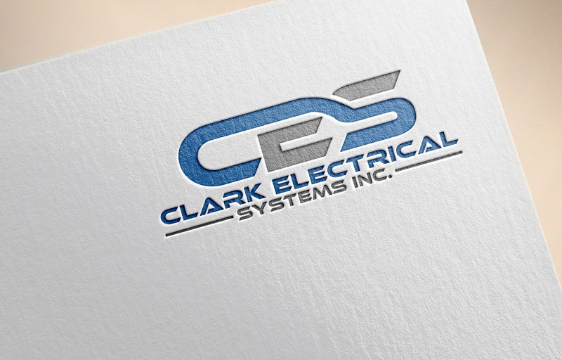 Logo Design by Private User - Entry No. 46 in the Logo Design Contest Artistic Logo Design for Clark Electrical Systems Inc..