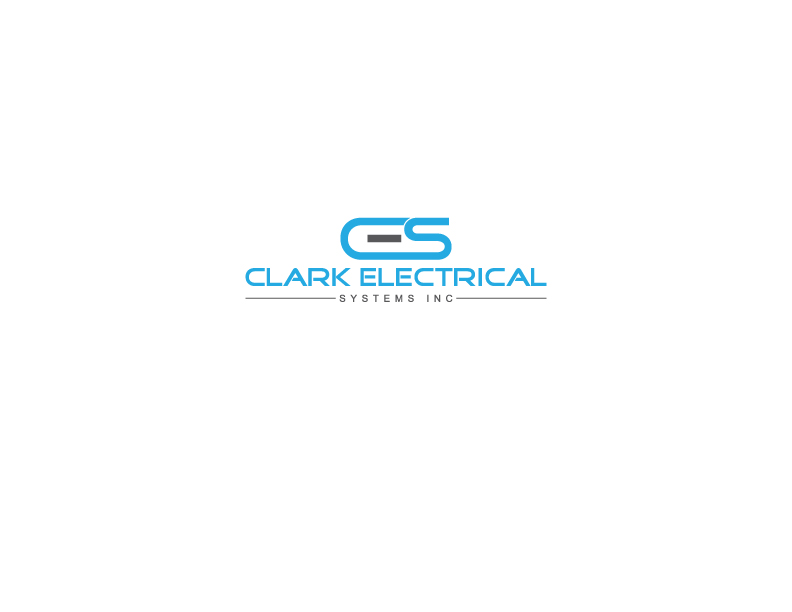 Logo Design by Razib Hossain - Entry No. 49 in the Logo Design Contest Artistic Logo Design for Clark Electrical Systems Inc..