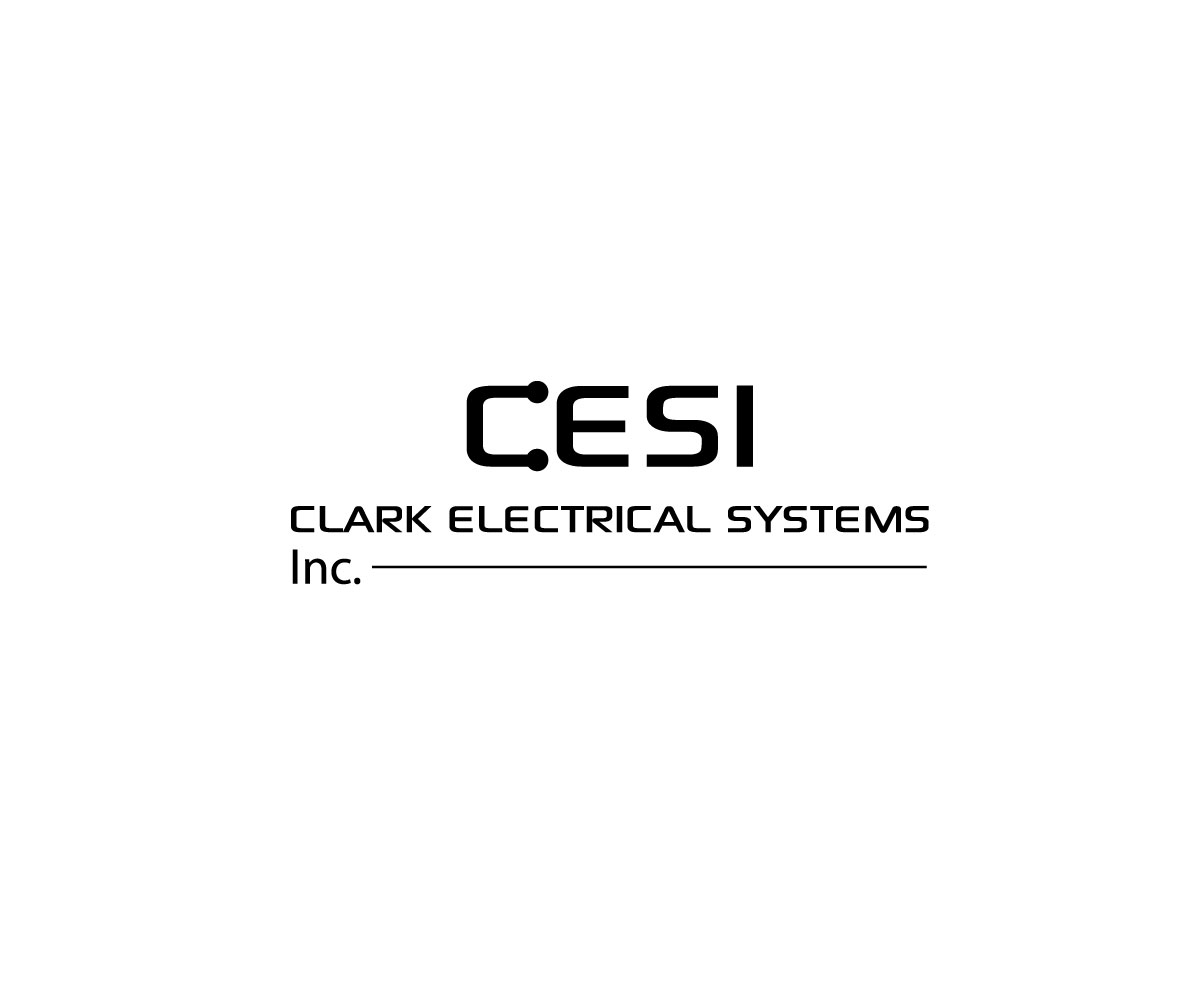 Logo Design by Mariam Mou - Entry No. 63 in the Logo Design Contest Artistic Logo Design for Clark Electrical Systems Inc..