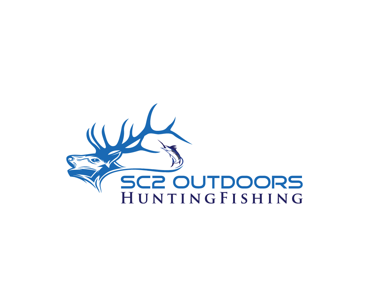 Logo Design by Mosharaf Karim - Entry No. 32 in the Logo Design Contest Imaginative Logo Design for SC2 Outdoors Hunting / Fishing Logo.