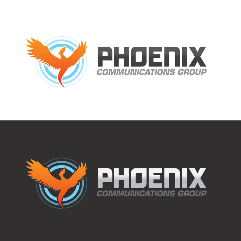 Logo Design by Alex-Alvarez - Entry No. 26 in the Logo Design Contest Phoenix Communications Group.
