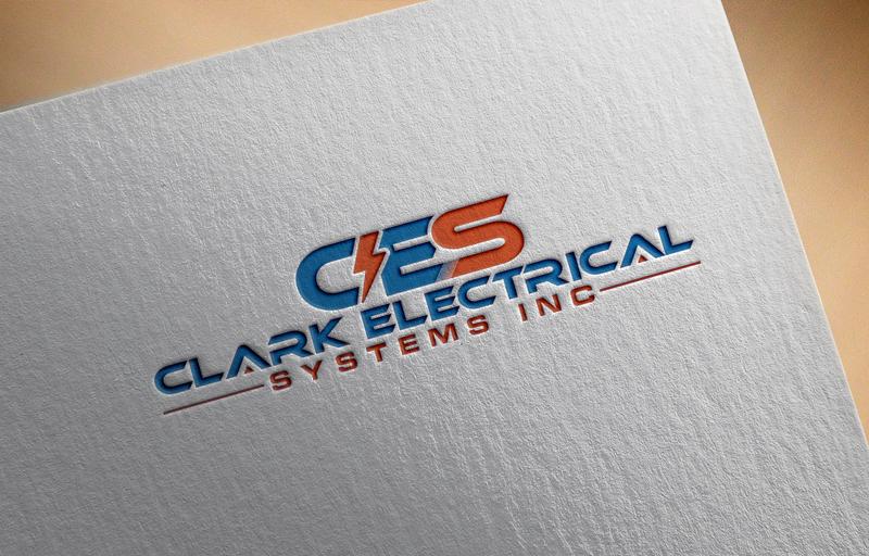 Logo Design by Masum Billah - Entry No. 66 in the Logo Design Contest Artistic Logo Design for Clark Electrical Systems Inc..