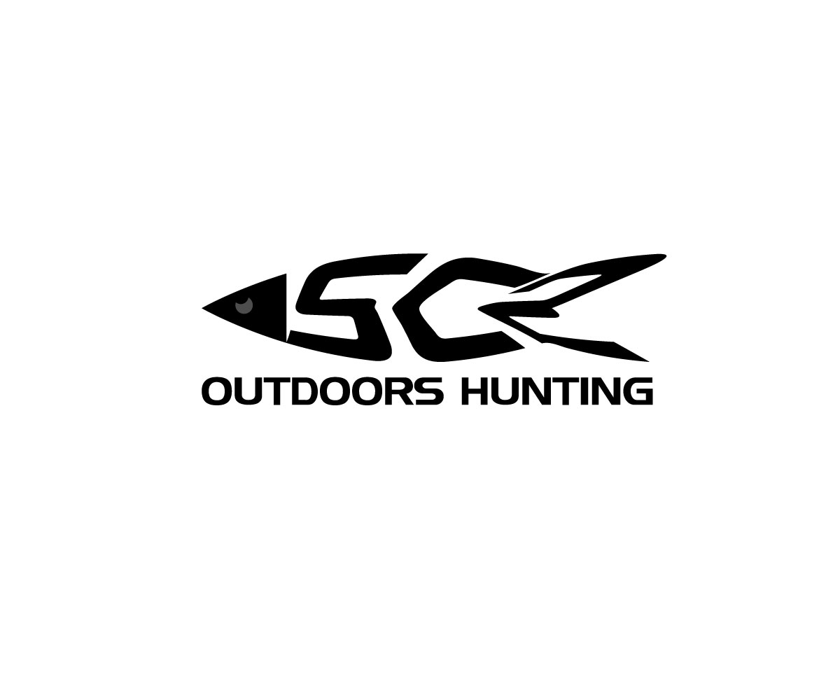 Logo Design by Mariam Mou - Entry No. 36 in the Logo Design Contest Imaginative Logo Design for SC2 Outdoors Hunting / Fishing Logo.