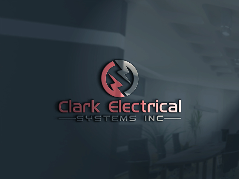 Logo Design by One Touch - Entry No. 70 in the Logo Design Contest Artistic Logo Design for Clark Electrical Systems Inc..