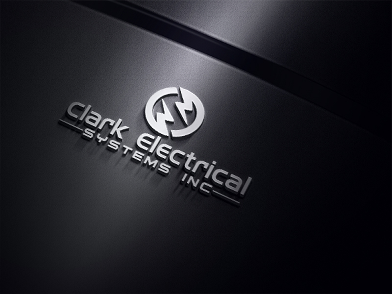 Logo Design by One Touch - Entry No. 71 in the Logo Design Contest Artistic Logo Design for Clark Electrical Systems Inc..