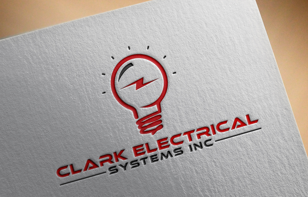 Logo Design by Rased Vai - Entry No. 74 in the Logo Design Contest Artistic Logo Design for Clark Electrical Systems Inc..