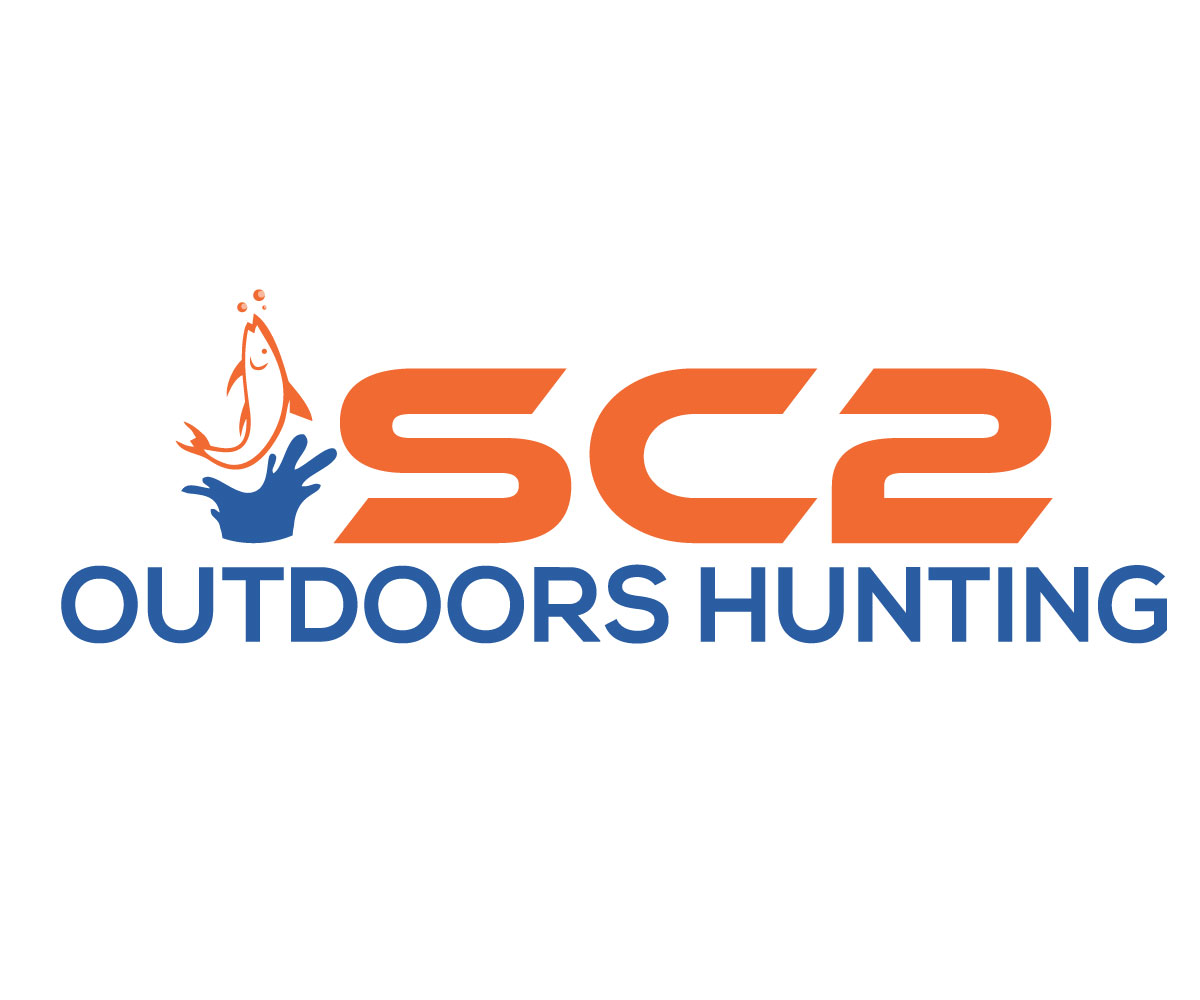 Logo Design by Rased Vai - Entry No. 40 in the Logo Design Contest Imaginative Logo Design for SC2 Outdoors Hunting / Fishing Logo.