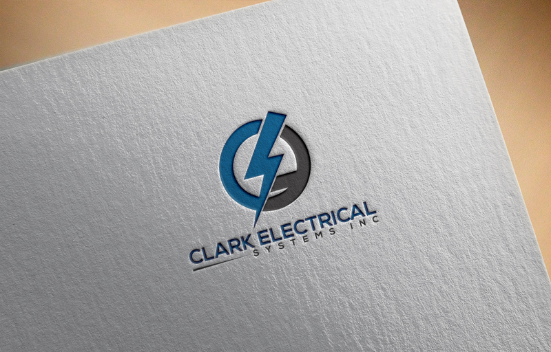 Logo Design by Md Nizam Uddin - Entry No. 91 in the Logo Design Contest Artistic Logo Design for Clark Electrical Systems Inc..