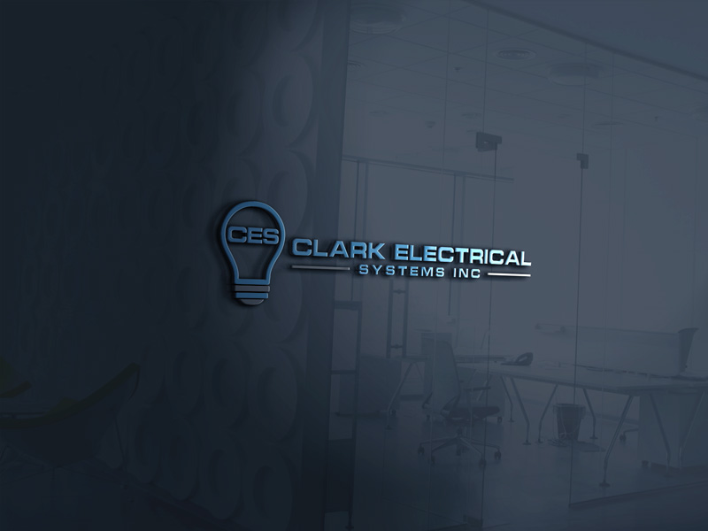 Logo Design by MAlamgir Hossain - Entry No. 101 in the Logo Design Contest Artistic Logo Design for Clark Electrical Systems Inc..