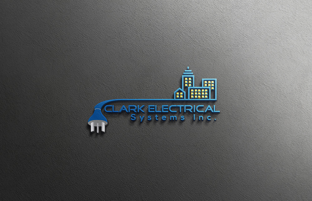 Logo Design by Lutful Ferdous - Entry No. 104 in the Logo Design Contest Artistic Logo Design for Clark Electrical Systems Inc..