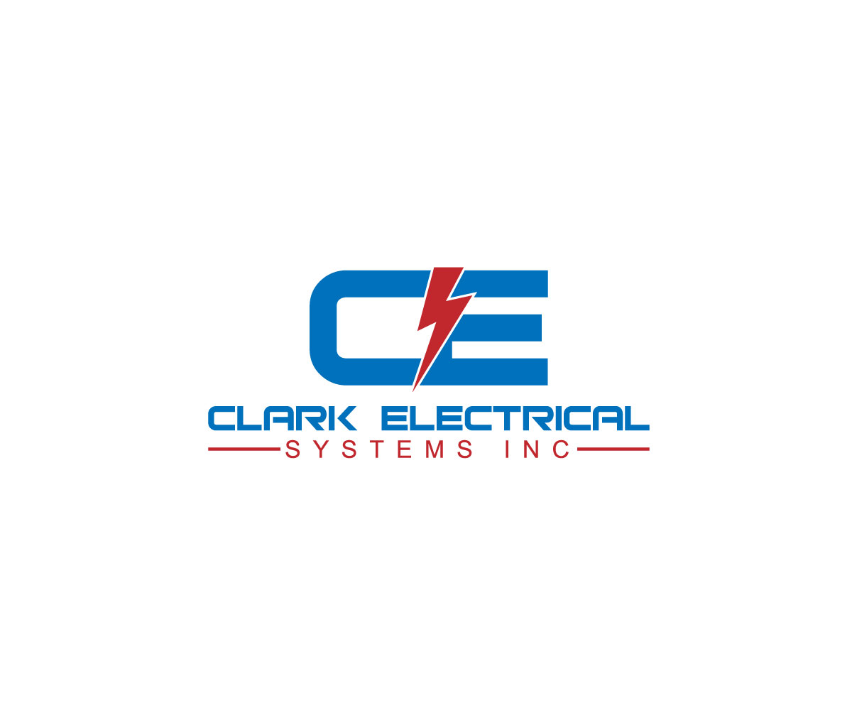 Logo Design by ARMAN HOSSAIN - Entry No. 106 in the Logo Design Contest Artistic Logo Design for Clark Electrical Systems Inc..