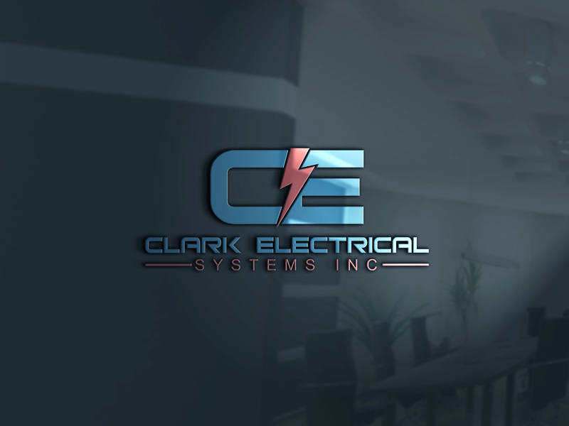 Logo Design by ARMAN HOSSAIN - Entry No. 107 in the Logo Design Contest Artistic Logo Design for Clark Electrical Systems Inc..