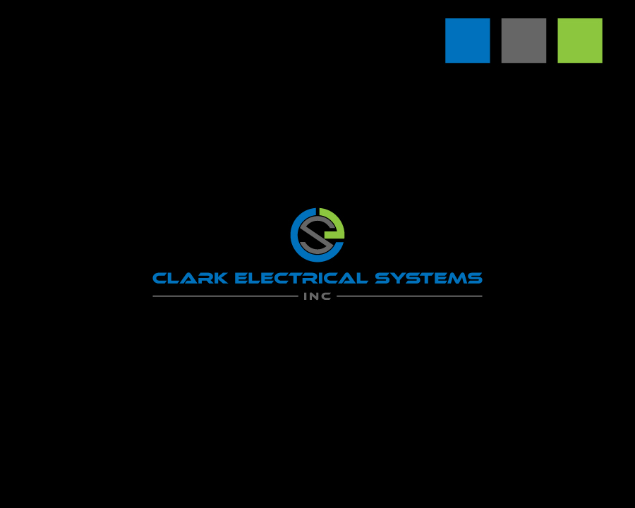 Logo Design by Neon Mirza shakib - Entry No. 108 in the Logo Design Contest Artistic Logo Design for Clark Electrical Systems Inc..